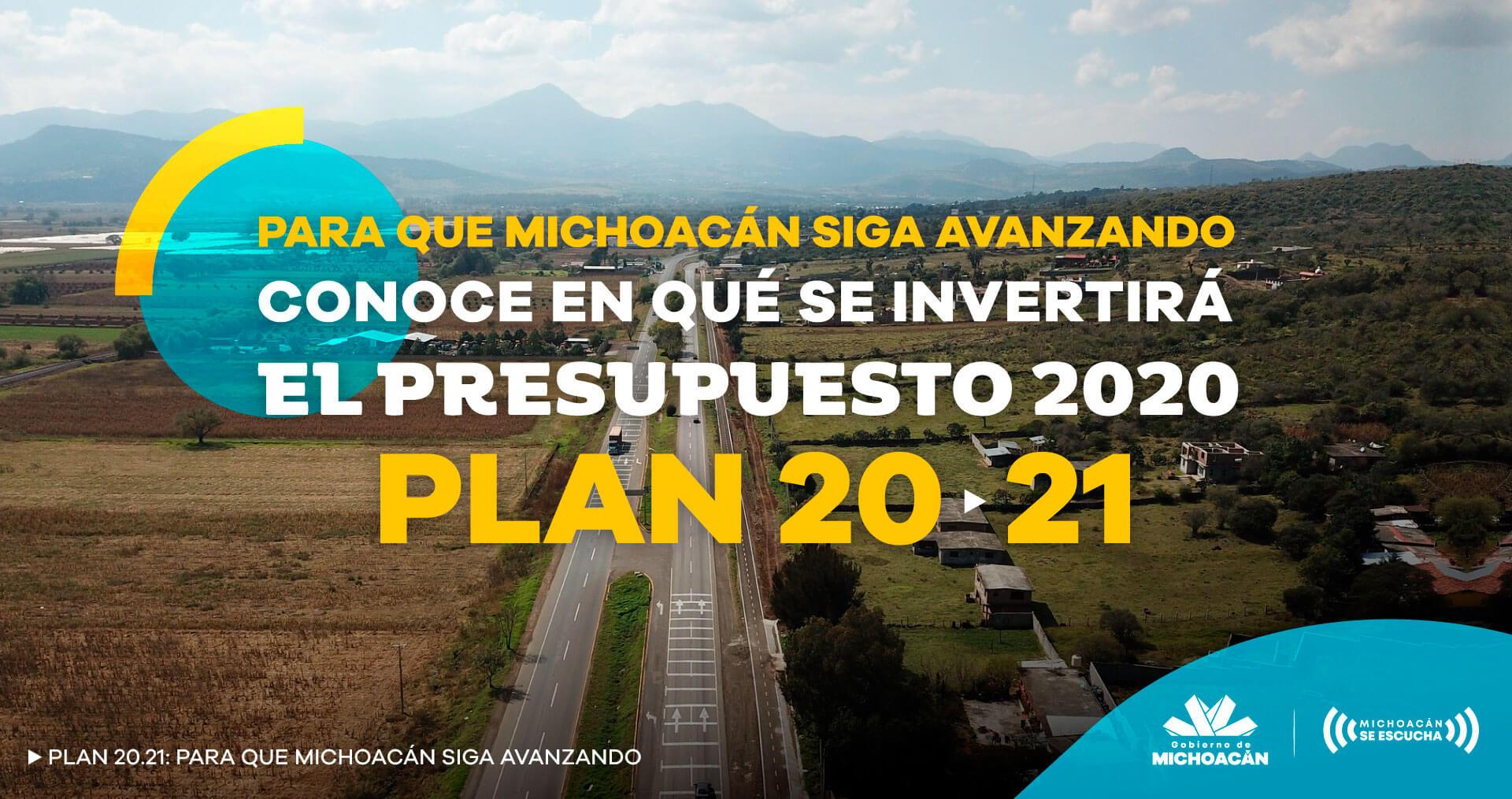 presupuesto plan 20 21